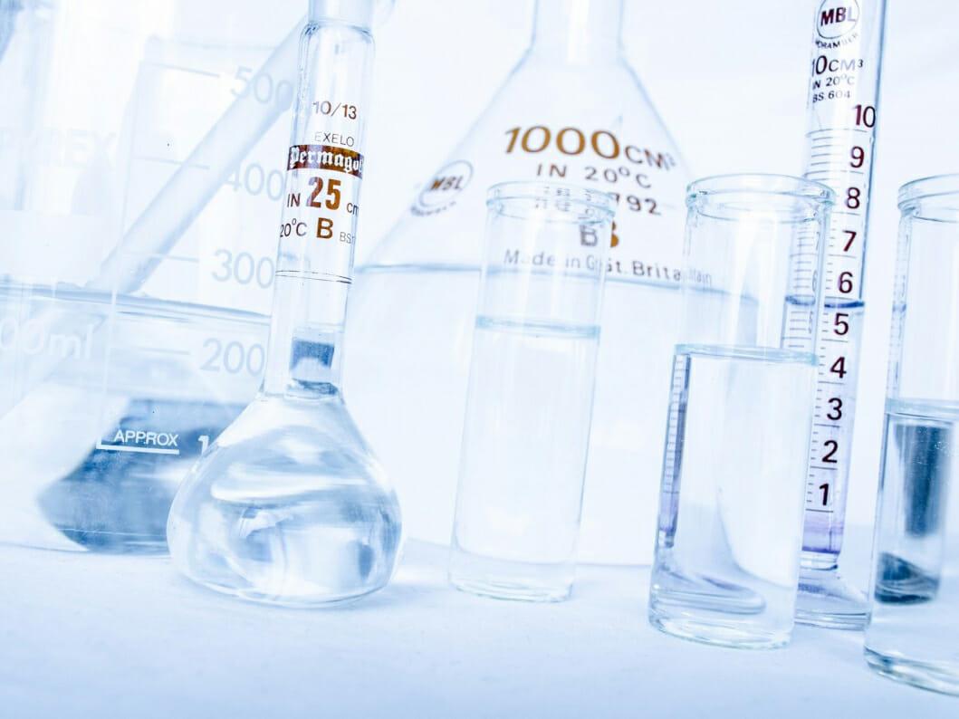 泉質分析実験器具