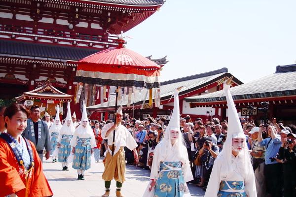 浅草三社祭 白鷺(シラサギ)の舞
